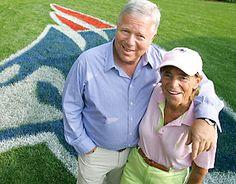 Robert and Myra Kraft. She left too soon! RIP