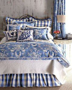 If you like Country style blue and white.