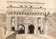 Porte Reale Valletta Malta early 1870s by Francis Frith