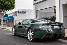 Aston Martin DBS British Racing Green