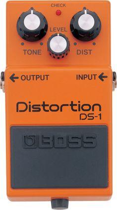 DS-1: Pedal Distorsión - Utilizado por Profesionales en Todo el Mundo