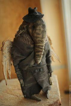 Купить Только позови меня... - темно-серый, ангел, Ангел хранитель, слон, слоник