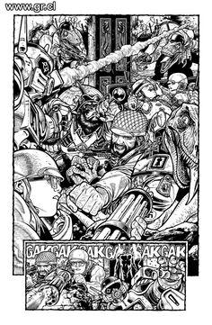 Gabriel Rodriguez - Locke & Key inks