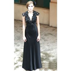 Black Formal Ball Gown $799.99 (why is it I always like the most expensive ones?)