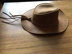 chapeau cuir australien  fashion  clothing  shoes  accessories   mensaccessories  hats ( 60683a477091