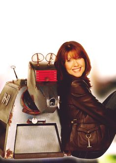 Sarah Jane and K9. (I Miss her and hope they honer her memory in the 50th anniversary episode.)