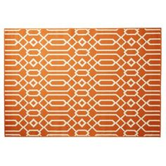 Check out this item at One Kings Lane! Simos Outdoor Rug, Orange