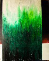 Monolith VI. Oil and gesso on canvas. 81x65 cm.  http://kainvk.deviantart.com
