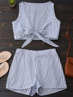 Two Piece Striped Gypsy Beach Set the cutest travel on a boat beach set! I just love this set! Perfect influencer gypset style!