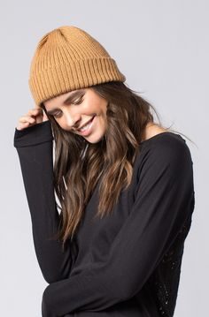 Discover your new favorite, go-to beanie, 'the Scout'. Available in the freshest colors. Fashion Fall, Fashion Outfits, Fair Trade Fashion, Archive, Winter Hats, Beanie, Purses, My Style, Colors