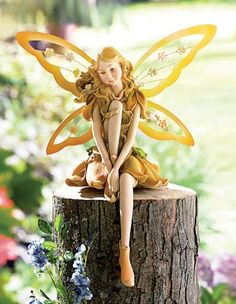 Buttercup Fairy Statue For N.