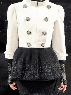 Chanel ~ Haute Couture Fall/Winter 2011.