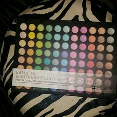 BH cosmetics 88 mattes palette Used once BH cosmetics 88 mattes palette Makeup Eyeshadow