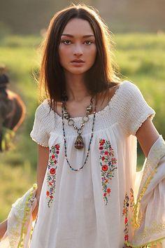 Smocked Malee Dress