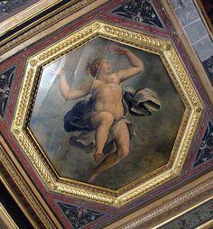Giorgio Vasari (1511-1574), Cristoforo Gherardi e Marco da Faenza - Allegoria della verità - affresco - 1557-1558 - Firenze, Palazzo vecchio, Sala degli Elementi