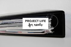 Project Life for Noobs // cayleegrey