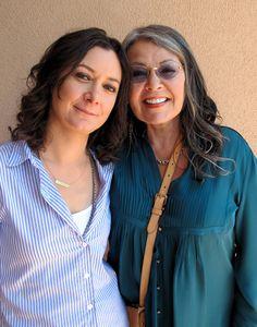 Roseanne and Sara Gilbert