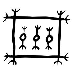 Lásabrjótur To open a lock without a key Icelandic magical staves Sigil Magic, Magic Symbols, Symbols And Meanings, Tarot, Traditional Witchcraft, Vegvisir, Asatru, Viking Runes, Creature Feature