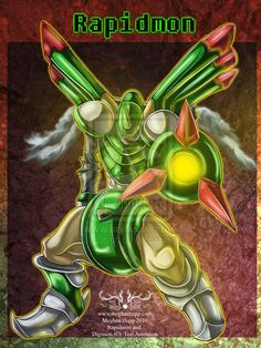 Digimon: Rapidmon by *Juctoo on deviantART