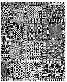 Adinkra cloth, Ghana.
