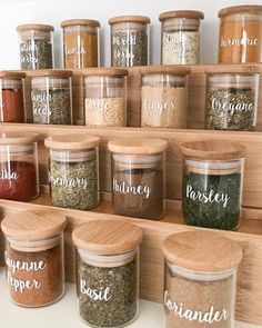 I've started doing a complete pantry makeover . which is one of my favourite. I've started doing a complete pantry makeover . which is one of my favourite things to do 😂 the first area in our pantry I've re-done is…, Kitchen Organization Pantry, Spice Organization, Home Organisation, Diy Kitchen Storage, Kitchen Decor, Pantry Ideas, Organized Kitchen, Pantry Diy, Pantry Labels