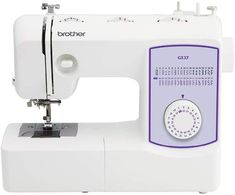 The Brother GX37 sewing machine is a great for taking to classes.  It is lightweight and owner ratings are very good.  It has 37 stitches and runs both smoothly and quietly.  However there are some issues you should know about before you buy. Liquid Resin, Blind Stitch, Brother Sewing Machines, Sewing Machine Reviews, Cotton Crafts, Easter Crafts For Kids, Paint Set, Sewing A Button, Craft Stick Crafts