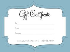 Free printable and editable gift certificate templates makeup gift certificates for portrait sessions virginia beach norfolk va photographers melissa bliss photography colourmoves