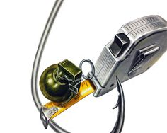 줄자, 수류탄, 낚싯바늘 (상명대/백석대 기초디자인 소재) : 네이버 블로그