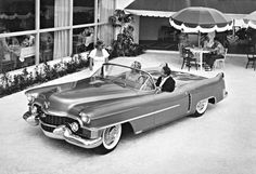 1953 Cadillac LeMans. There were three or four of these produced. At least one of them is still owned by GM, but it now sports four headlights due to a late-'50s refresh. Photo: GM Media