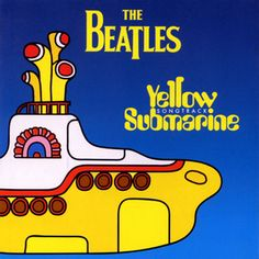 """Music cover: The Beatles, Yellow Submarine 'Paul McCartney wrote this one. He explained shortly after it was released in """"'Yellow Submarine' is very simple but very different. It's a fun song, a. Beatles Songs, Banda Beatles, Beatles Album Covers, Music Albums, Beatles Art, Beatles Bible, Songs Album, Music Books, Album Covers"""