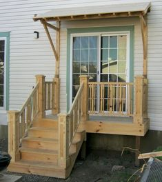 40 Farmhouse Front Porch Steps Ideas 40 Farmhouse Front Porch Steps Ideas Image Size: 750 x 842 Source Front Porch Steps, Farmhouse Front Porches, Side Porch, Back Steps, Front Porch Design, Side Door, Small Back Porches, Decks And Porches, Manufactured Home Porch