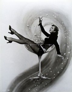 Greer Garson & Champagne. Curated & Selected by Andreani-Besnier #Champagne. www.andreani-besnier.com