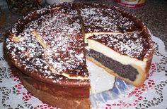 makový dort se zakysanou smetanou cm