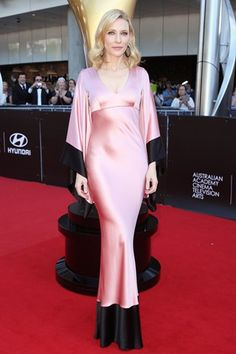 Cate Blanchett in an Alexander McQueen pink gown - click through to see who joins her in this week's best dressed list