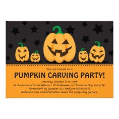 21 best pumpkin carving party invitations images pumpkin carving