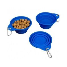 3 Piece Pet Food Dishes Water Bowls Supplies Small Animals Drinking Fountain