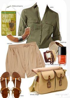 love the safari shirt