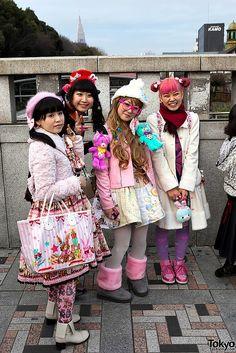 Harajuku Bridge Girls | Flickr: Intercambio de fotos