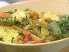 Curry de Peixe na Wok - Foto de Mais Você na TV