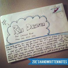 envelopes addressing