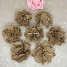 çuval kumaştan çiçek yapımı ile ilgili görsel sonucu
