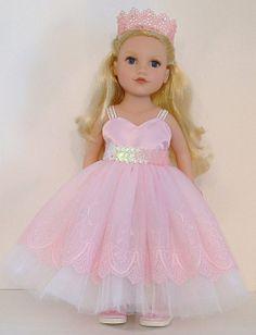 Beautiful Pink Princess for American Girl