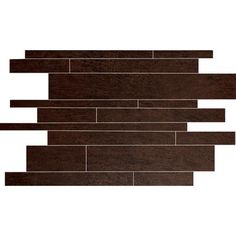 Eliane - Forest Mobil Ebano Glazed Porcelain Floor & Wall Mosaic Tile (12 In. x 16 In. Sheet) - 246824 - Home Depot Canada