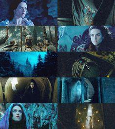 downmirkwood:  Hogwarts Founders: Rowena Ravenclaw - Katie McGrath