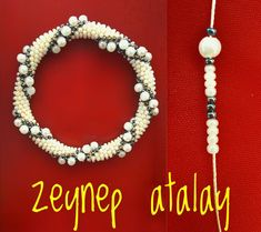 Bead Crochet Patterns, Bead Crochet Rope, Crochet Beaded Bracelets, Beaded Necklace, Creations, Pearls, Accessories, Jewelry, Diy And Crafts