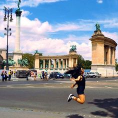 Hero Square. Hősök tere. Budapest Hungary is such a beautiful place, no wonder why it is included as one of the top ten cities to visit in Europe. It was amazing how I got to see such wonderful panoramic views and I will definitely recommend to visit the city!