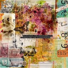 Sometimes - I've used Captivated Visions kit Saffrons available at The Fix September at DSA.