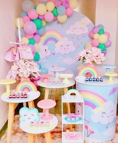 Dinner Party Decorations, Girl Baby Shower Decorations, 1st Birthday Party For Girls, Birthday Woman, Baby Reveal Cakes, Paris Party, Rainbow Baby, Party Time, First Birthdays