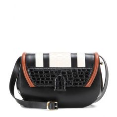 Proenza Schouler - U snakeskin and leather shoulder #bag