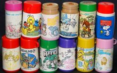 I remember the sound of flipping open that thermos for some warm and slightly plastic tasting water